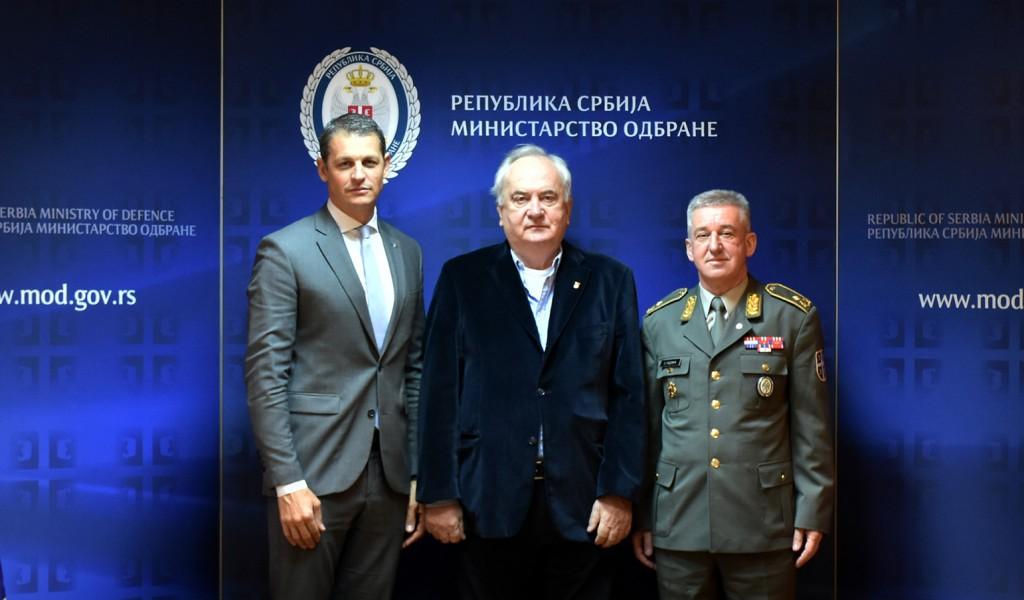 Унапређење сарадње МО и ВС са Олимпијским комитетом Србије