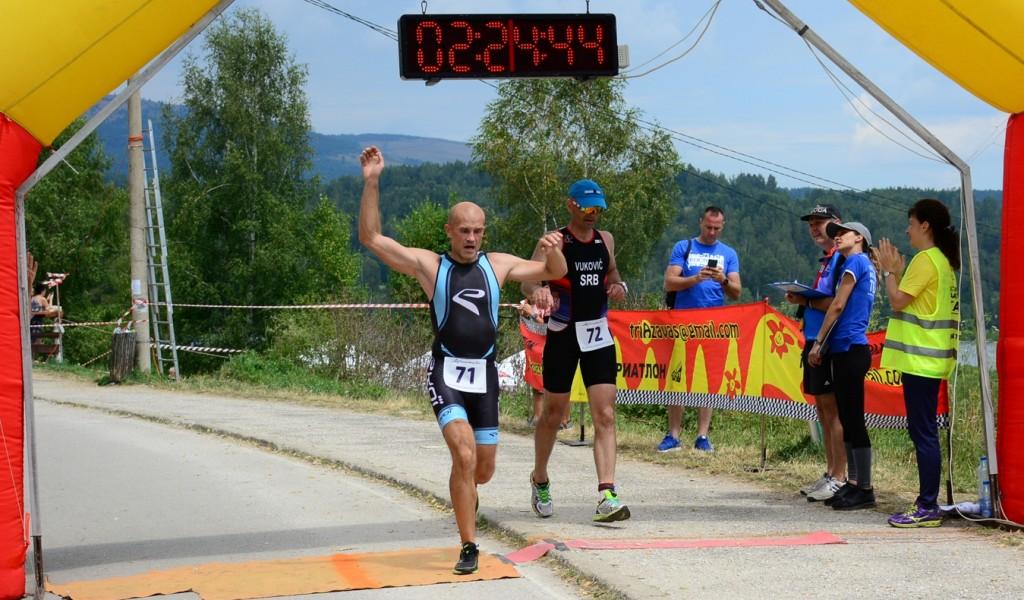 Članovi triatlon reprezentacije MO i VS uspešni na Prvenstvu Srbije
