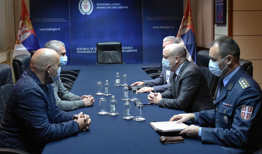 State Secretary Živković meets with Provincial Secretary for Sports and Youth Mr Basta