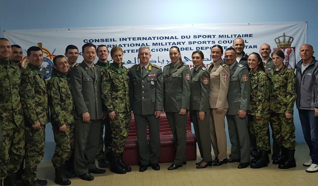 Испраћени војни спортисти на 54 светско војно првенство у скијању