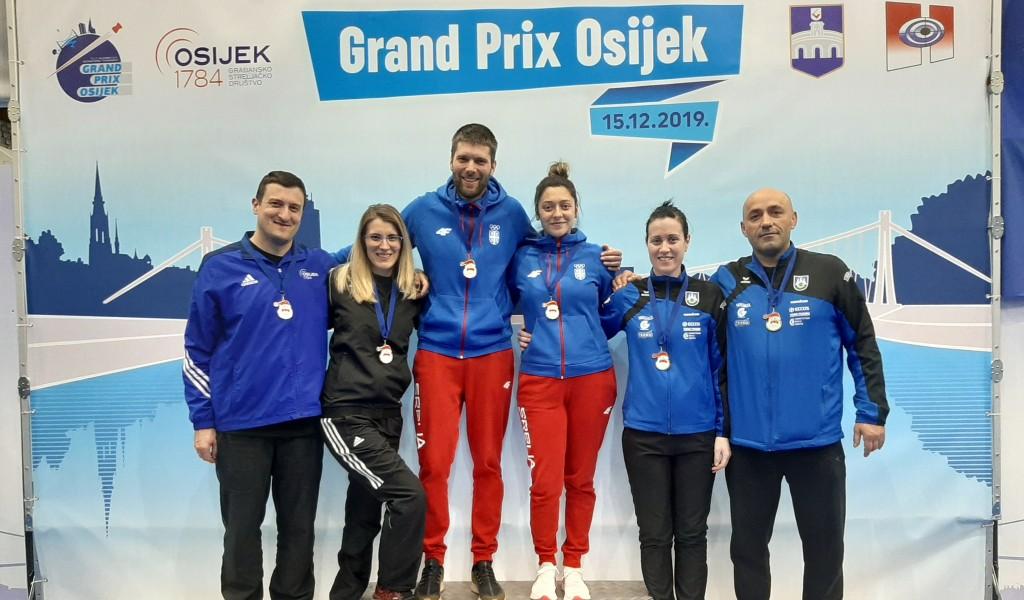 Strelci Akademca osvojili šest medalja na turniru u Osijeku