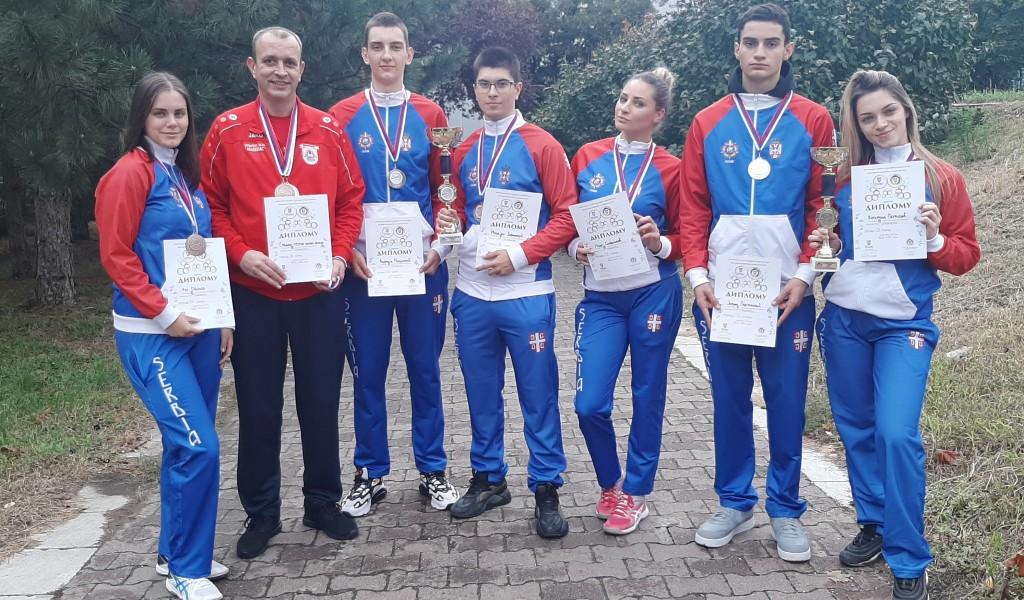 Сребрна и бронзана медаља у стрељаштву за ученике Средње стручне војне школе