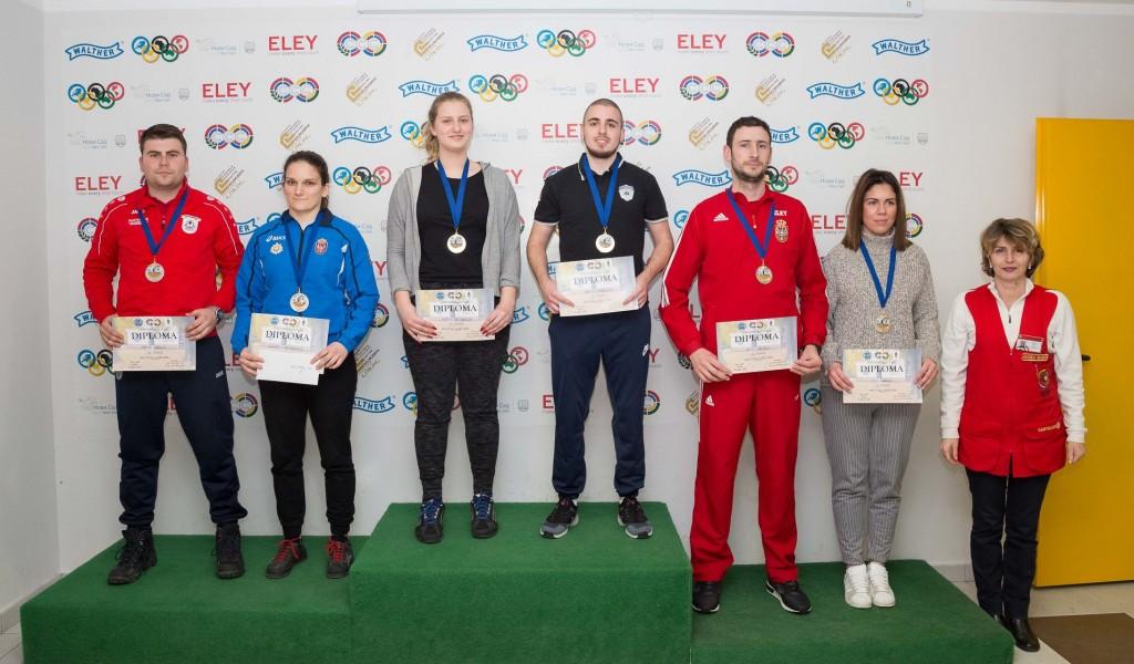 Једна медаља и два финала на Међународном турниру у Новом Саду