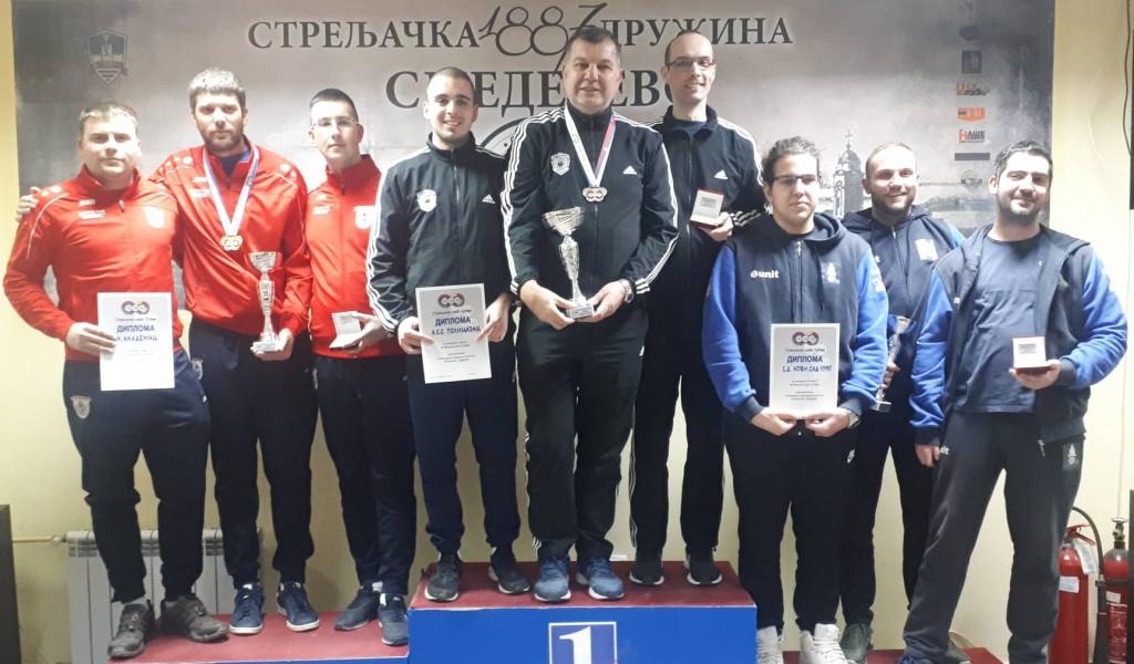 Академцима сребро у финалу купа Стрељачког савеза Србије Гргићу злато