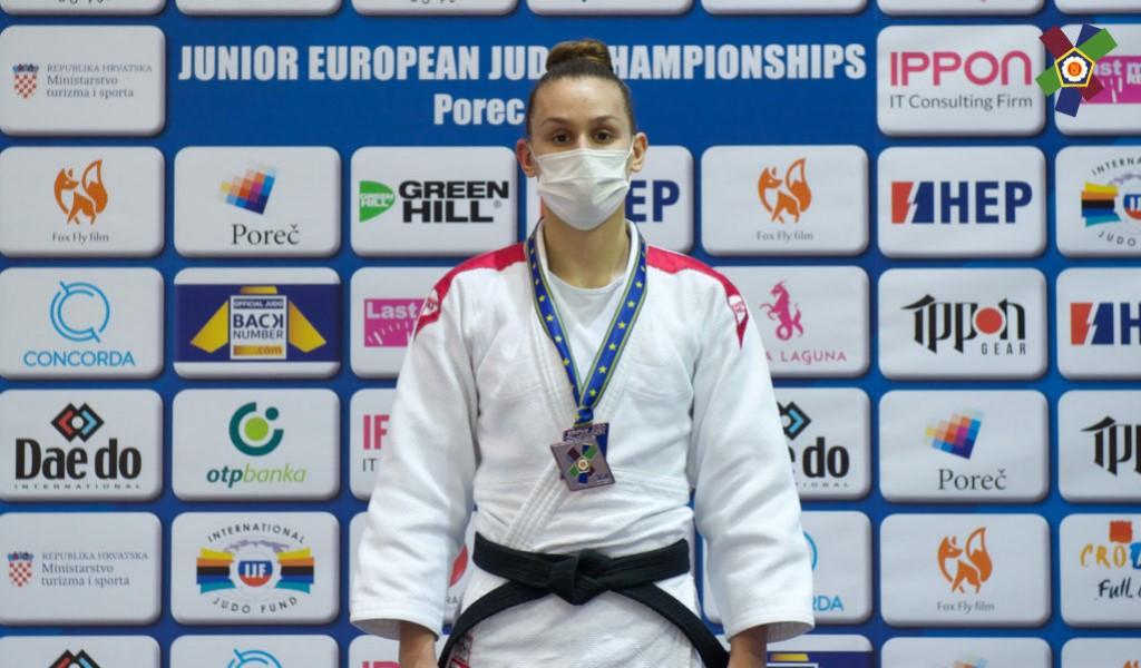Бронзана медаља за Ању Обрадовић на Европском првенству за јуниоре у џудоу