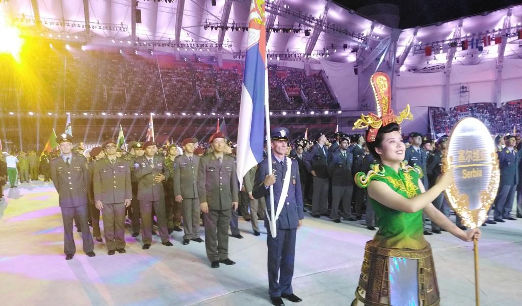 Отворене 7 CISM светске војне игре у Кини