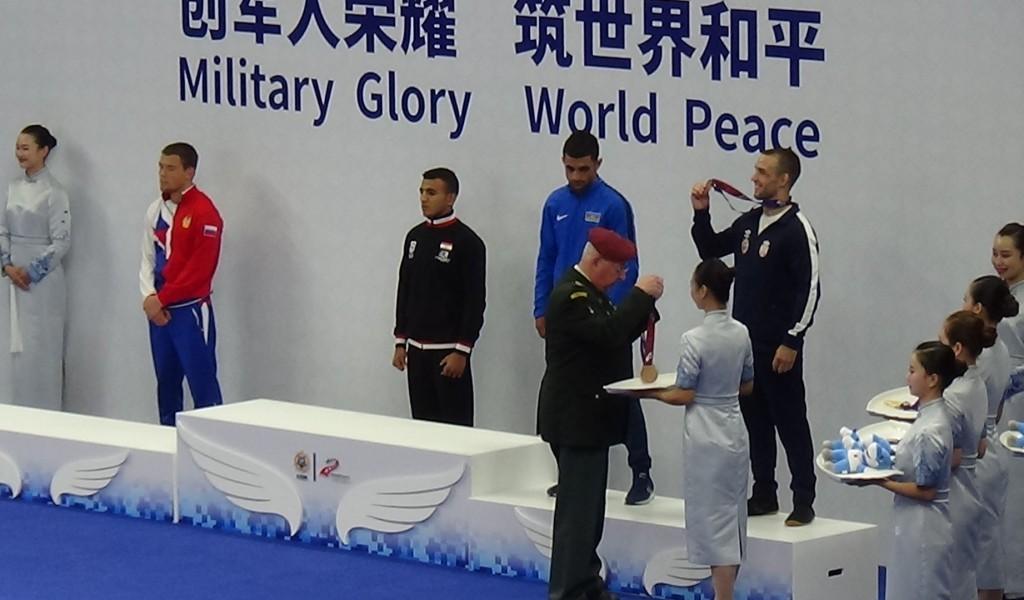 Prva medalja za Srbiju na svetskim vojnim igrama u Kini