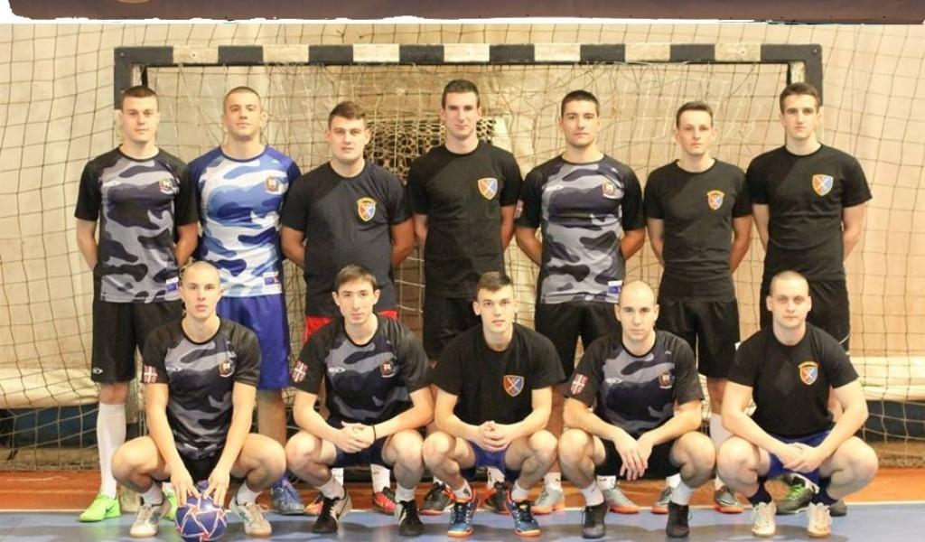 Екипа Војне академије победама започела турнир Играјмо за 16