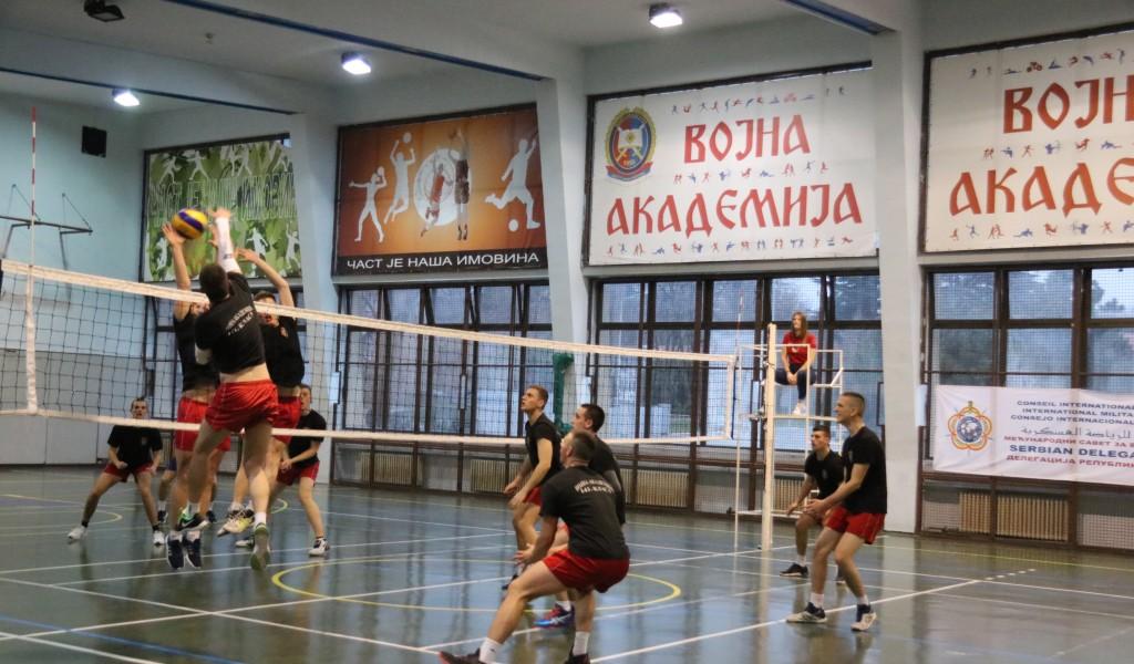 Одржани спортски сусрети поводом Дана Војне академије
