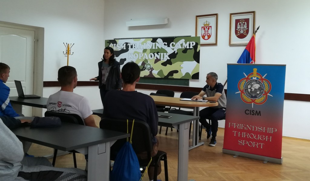 Предавање о психолошкој припреми спортиста