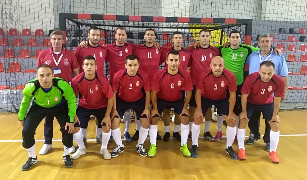 Репрезентација МО и ВС у полуфиналу футсал купа у Скопљу