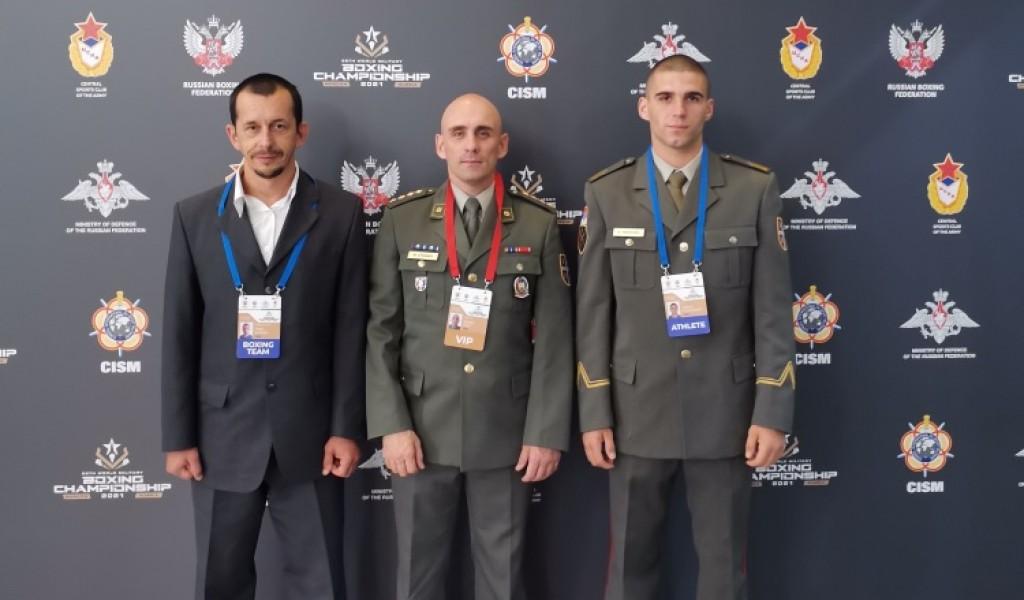 Prvo učešće vojnih sportista na svetskom vojnom prvenstvu u boksu