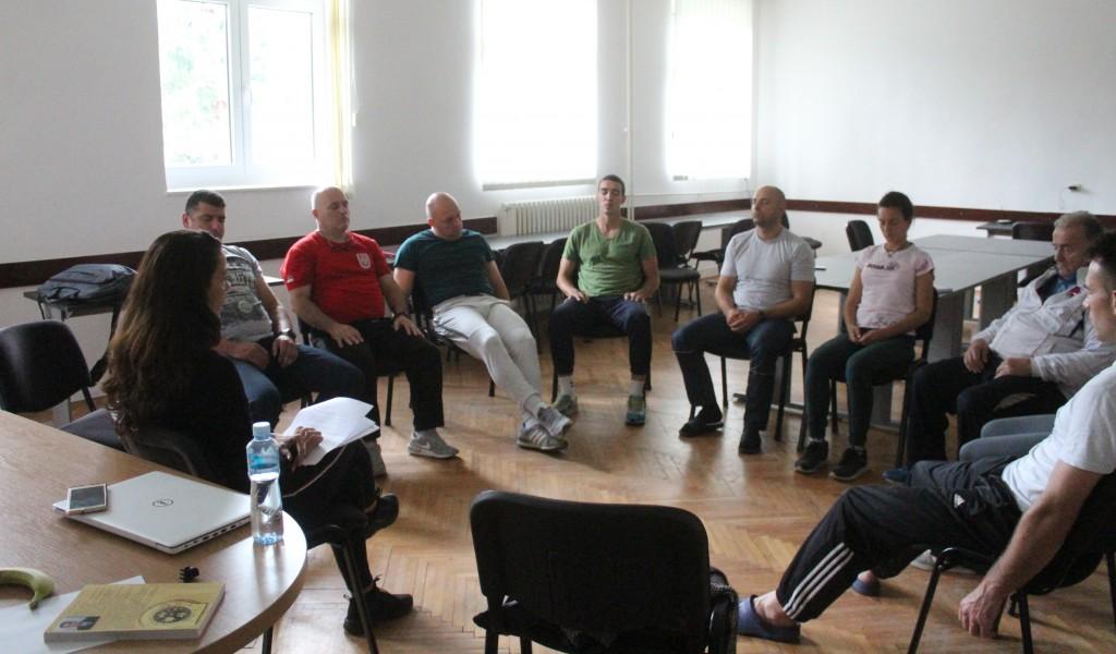 Психолошко предавање за учеснике 10 CISM Летњег тренинг кампа