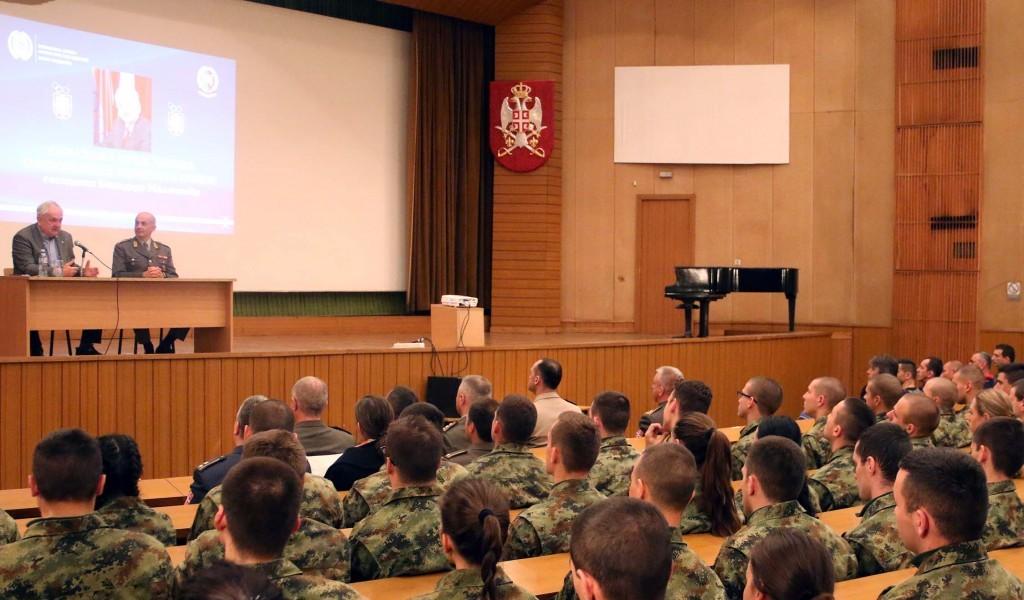 Predavanje predsednika Olimpijskog komiteta Srbije na Vojnoj akademiji