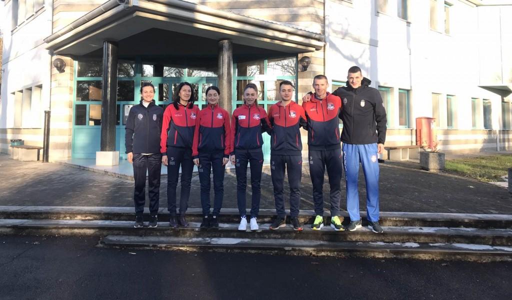 Атлетска војна репрезентација Србије на CISM тренинг кампу у Словенији
