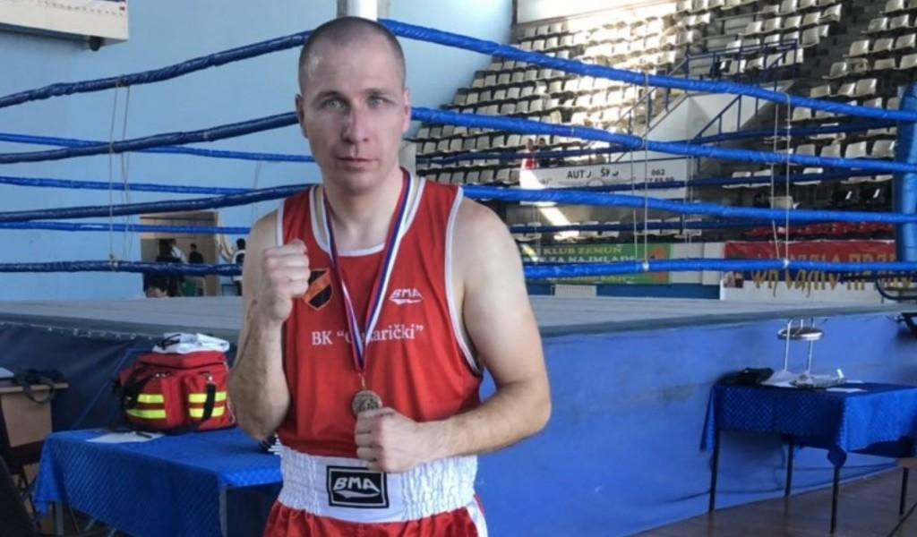 Бронзана медаља у боксу за старијег водника Вулића