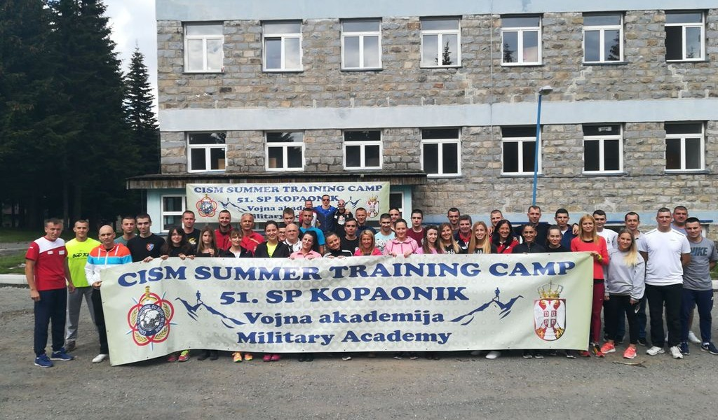 Девети CISM тренинг камп КОПАОНИК 2018