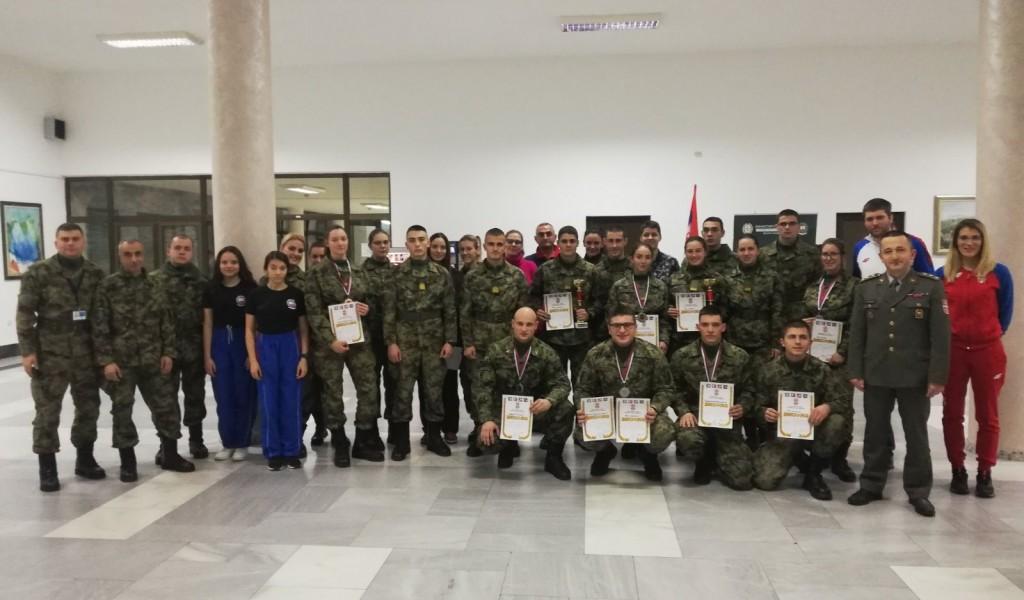 Такмичењем у стрељаштву завршени новогодишњи сусрети на Војној академији