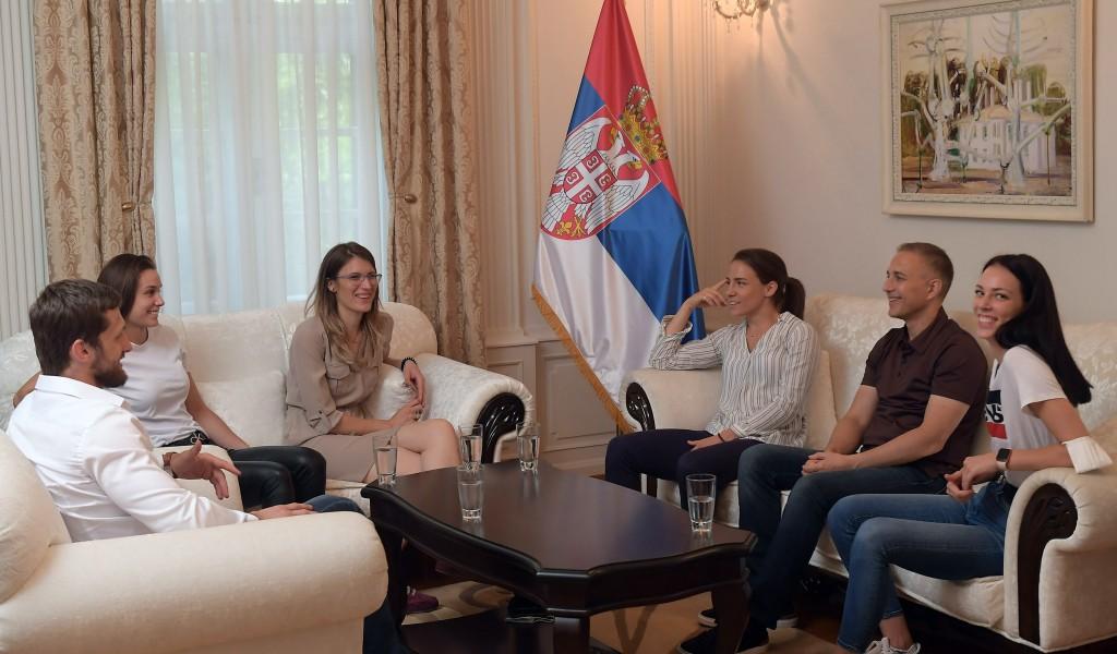 Министар Стефановић: Бориће се у Токију свим срцем за Србију