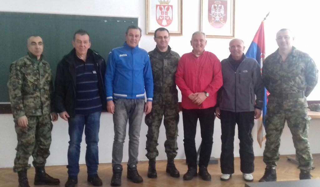 Састанак поводом припрема војне репрезентације у скијању