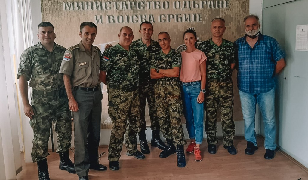 First Serbian Military Athletics Association established