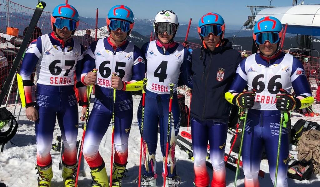 Војни скијаши на Европа Балкан купу