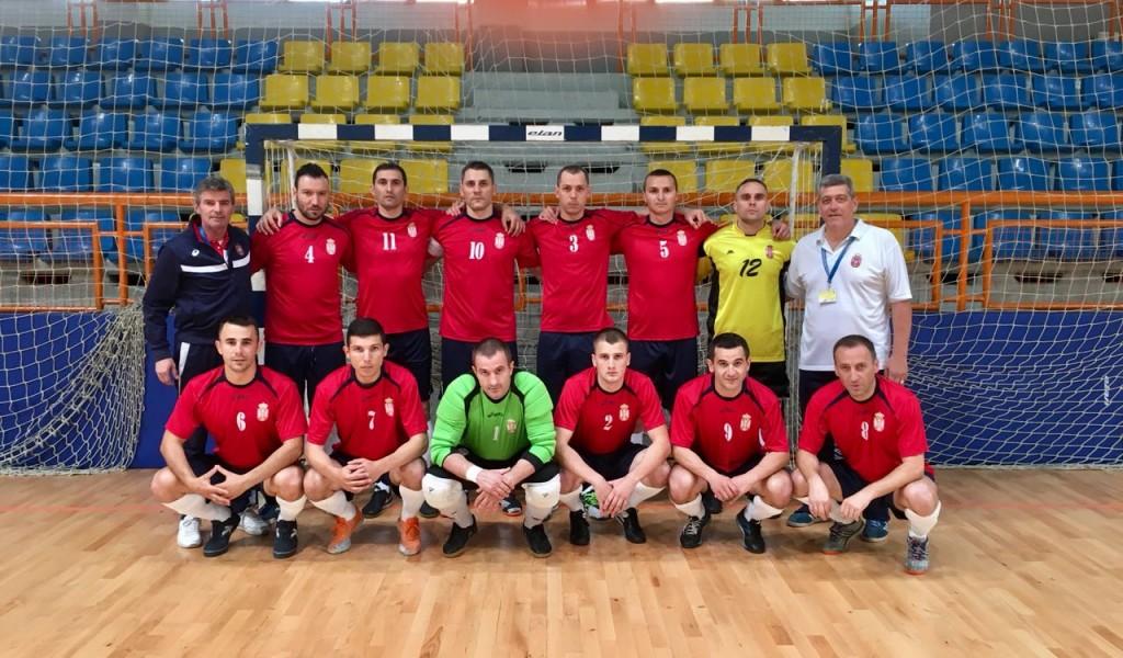 Српски војни спортисти у футсалу победили репрезентацију Словеније