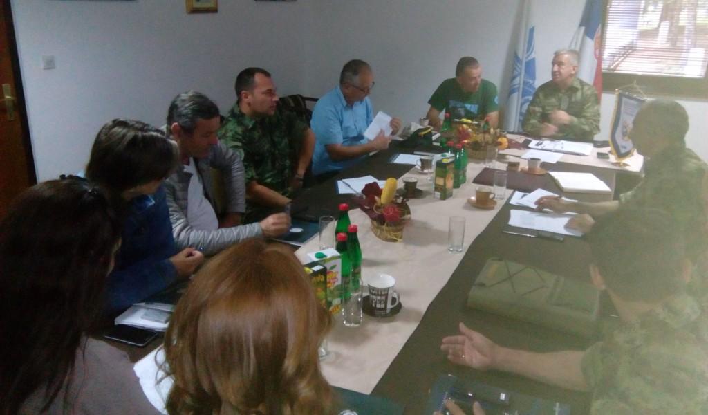 Координациони састанак поводом организације 9 CISM летњег Тренинг кампа Копаоник 2018