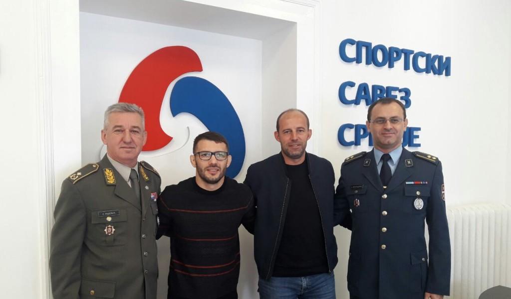 Унапређење сарадње МО и ВС са Спортским савезом Србије