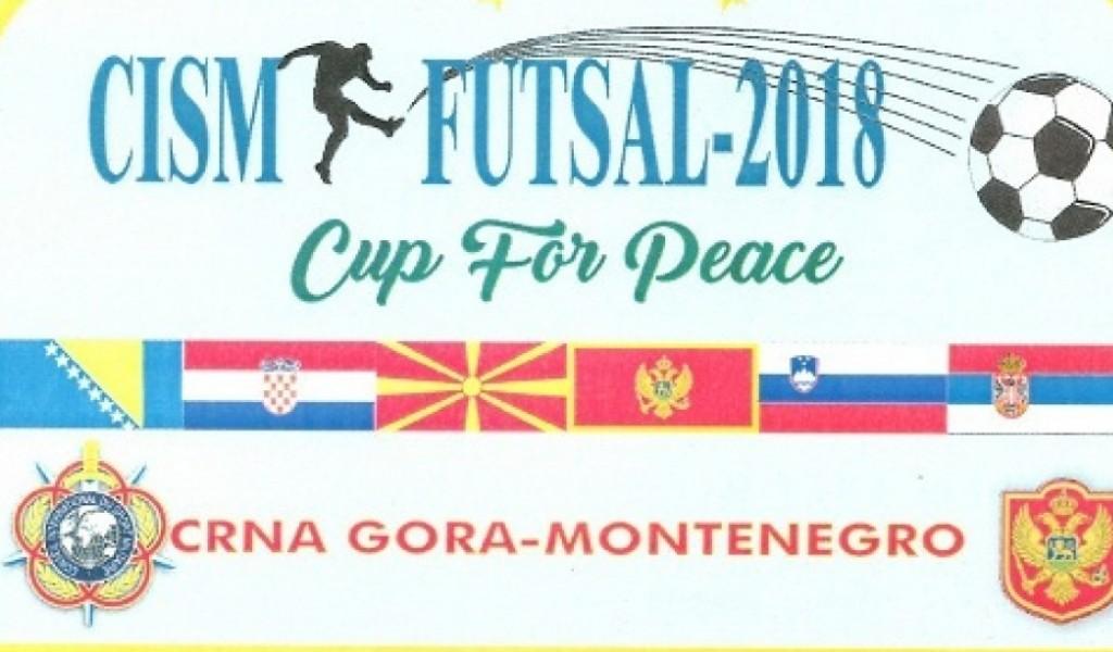 Припреме војне репрезентације Србије за учешће на 10 CISM футсал купу за мир