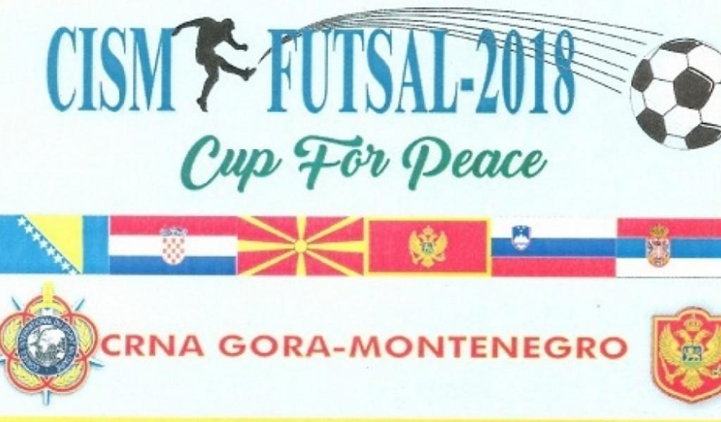 Футсал репрезентација Министарства одбране и Војске Србије на 10 CISM футсал купу у Црној Гори