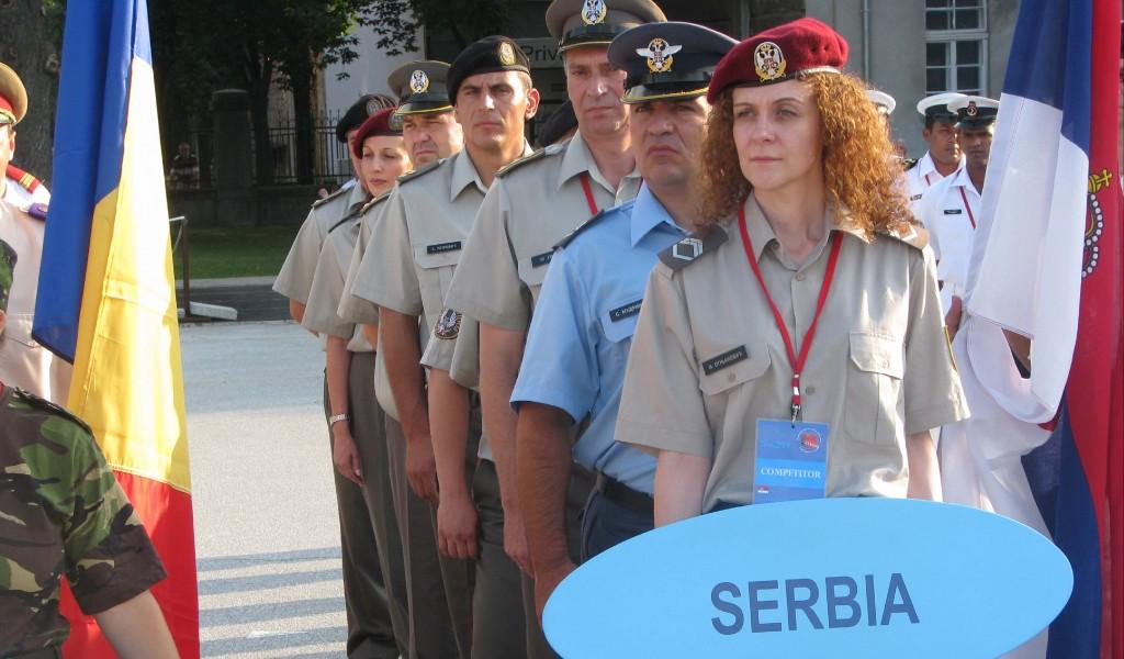 Припадници Војске Србије на 50 Светском војном првенству у стрељаштву