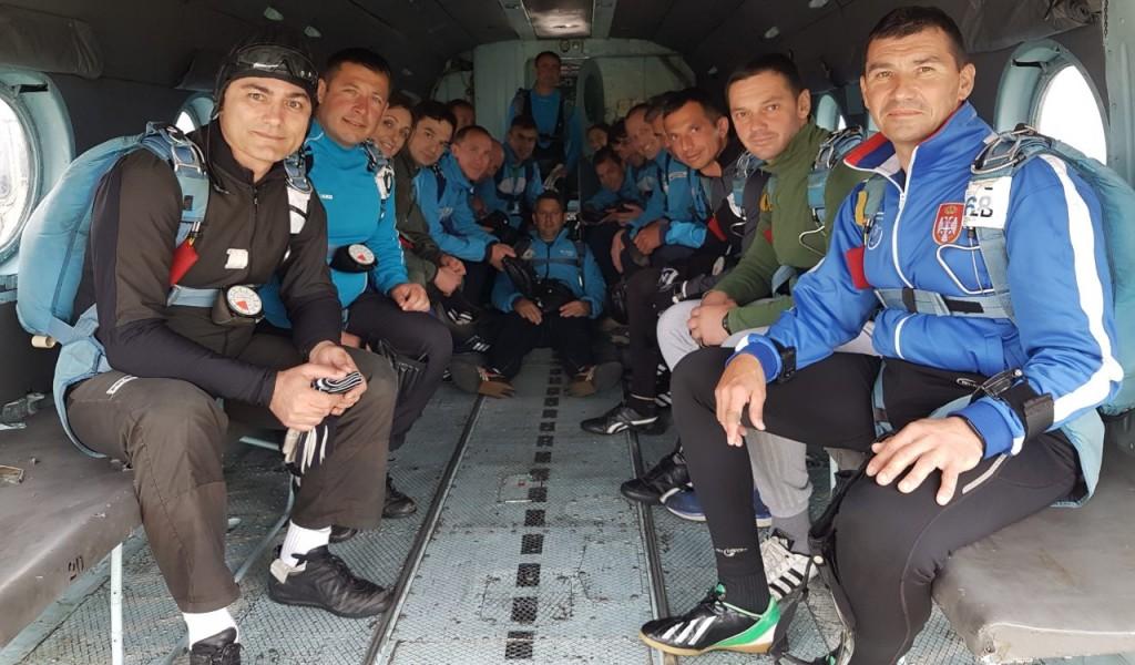 Билатерални падобрански тренинг камп