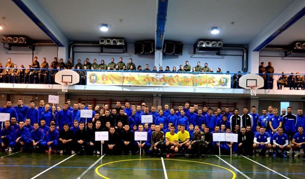 Novogodišnji sportski susreti u Vojnoj akademiji
