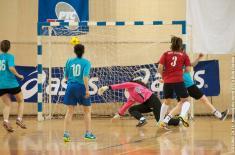 Женска футсал екипа Војне академије трећа на Меморијалном турниру Играјмо за 16