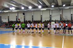 Прва победа за екипу МО и ВС на футсал турниру у Скопљу