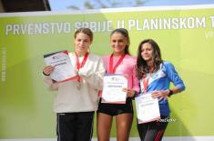 Припадници Министарства одбране и Војске успешни на такмичењу у планинском трчању